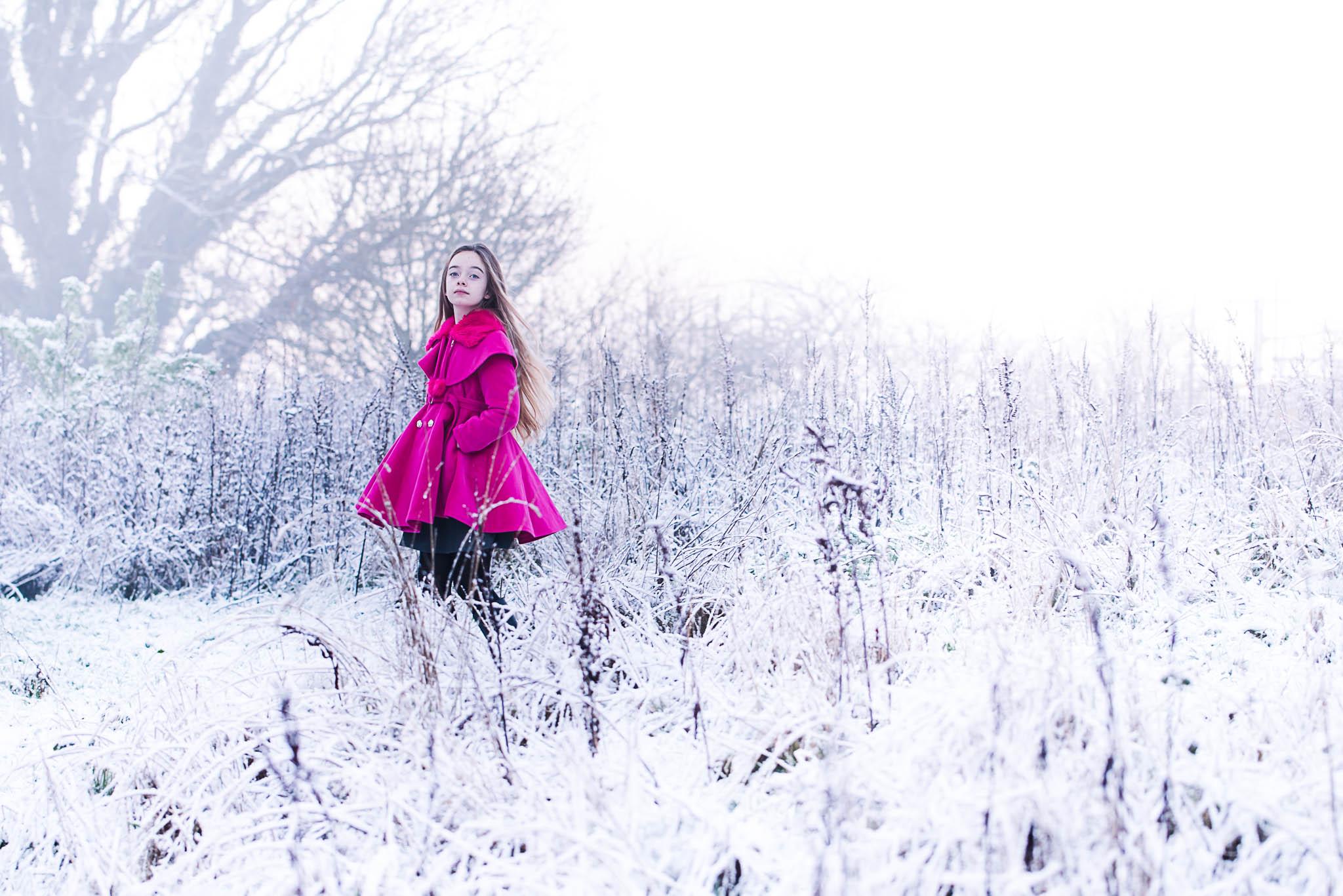 Snow Telford Shropshire Photographer Photoshoot
