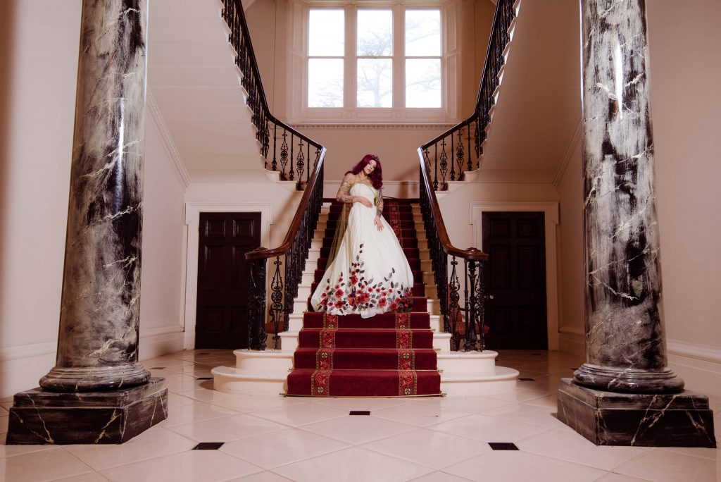 Netley Hall Wedding Photographer Martine Julia Photography Shrewsbury Shropshire Wedding Venue Bride