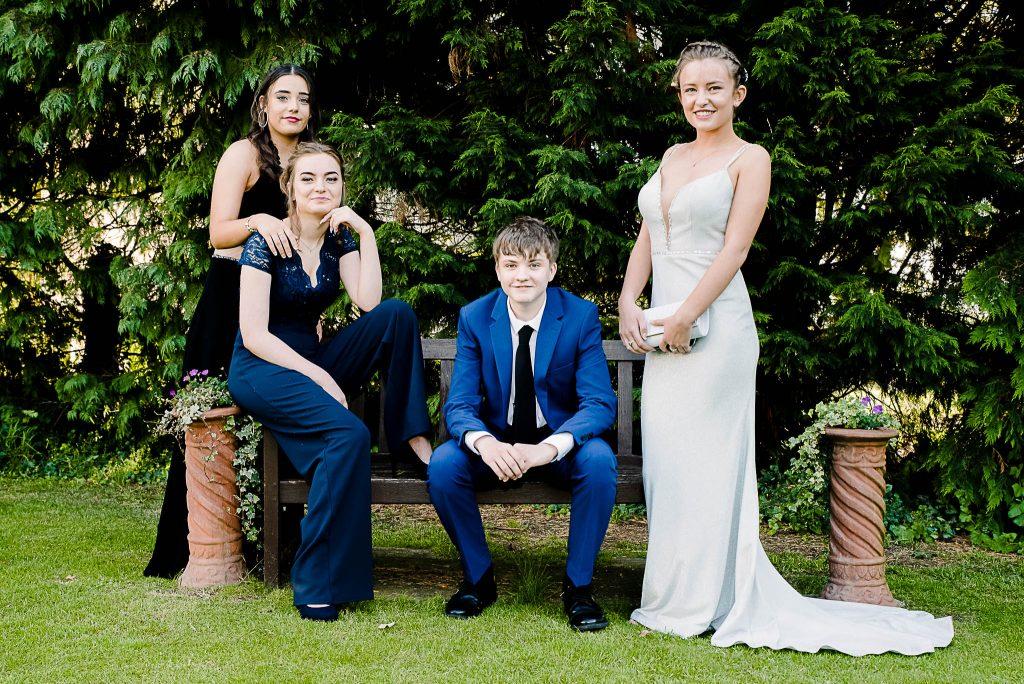 Prom Photoshoot The Wroxeter Hotel Shrewsbury Shropshire Photographer