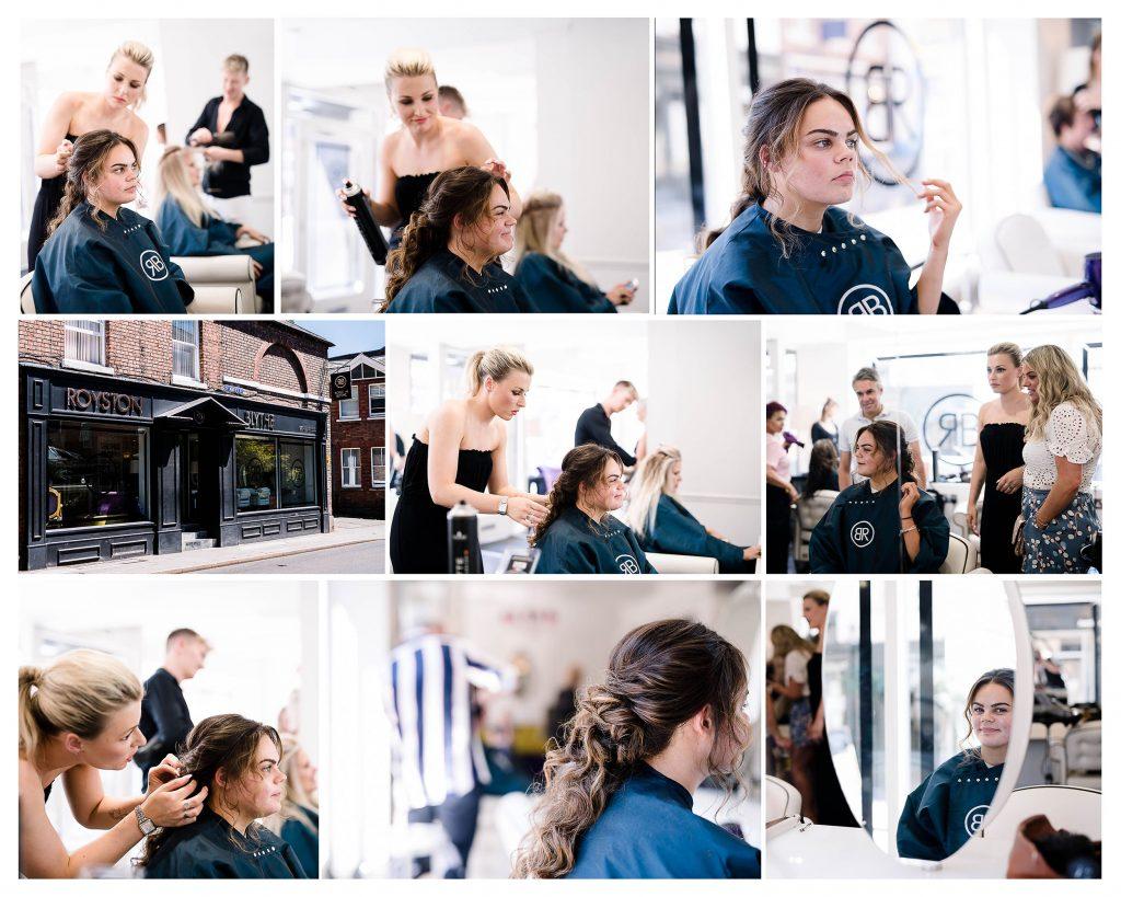 Prom Hair Styles Shrewsbury Salon School Prom Telford Shropshire Photographer
